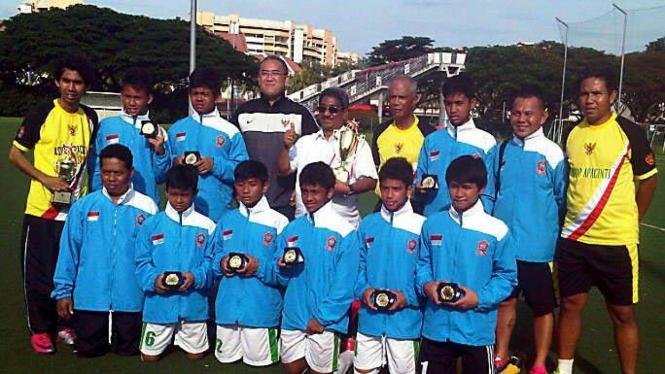 Tim ASIOP Apacinti saat juara di Singapura 2010
