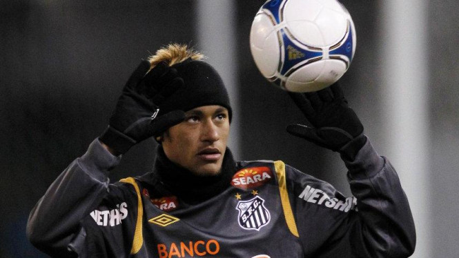 Striker Santos, Neymar