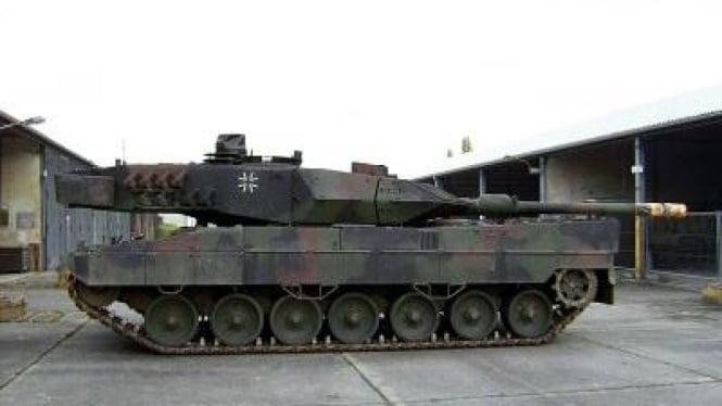 Tank Leopard 2A6 buatan Jerman