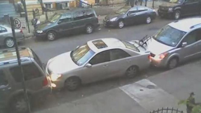 Parkir paralel ekstrim di New York
