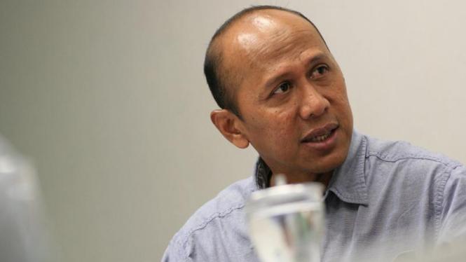 Kunjungan Rahmat Darmawan ke VIVAnews.com