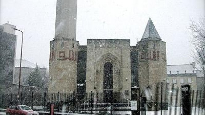 Masjid Edinburgh, di Skotlandia
