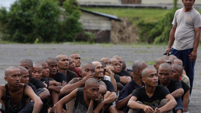Razia Penertiban Anak Punk di Aceh