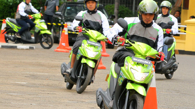 Launching Motor Suzuki NEX