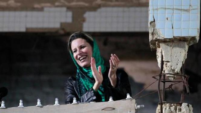 Aisha, putri Khadafi