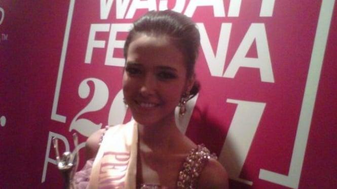 Amila Tamadita, pemenang Wajah Femina 2011