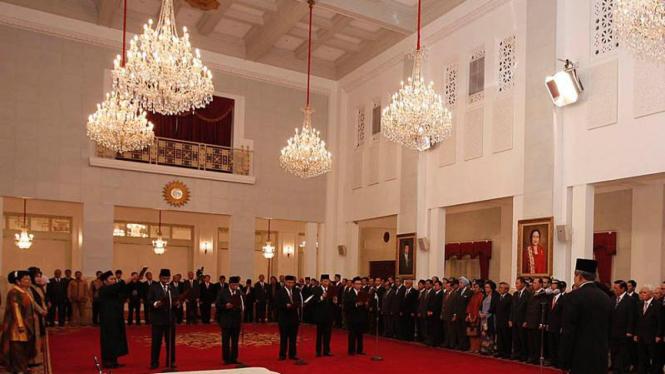 pelantikan ketua kpk baru oleh SBY