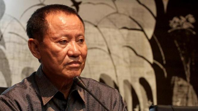 Menkumham Amir Syamsuddin Saat Jumpa Pers Verifikasi Partai Politik
