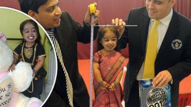 Jyoti Amge (Wanita terkecil di dunia)