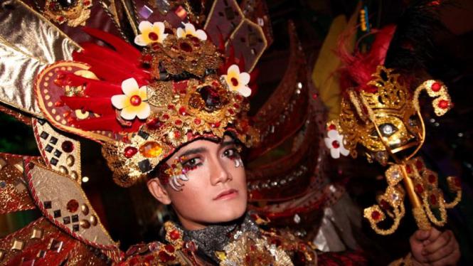 Jember Fashion Carnaval Tampil di Pembukaan Jakarta EpiCarnival