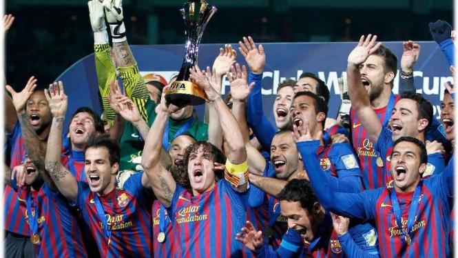 Barcelona menjuarai Piala Dunia Antar Klub 2011