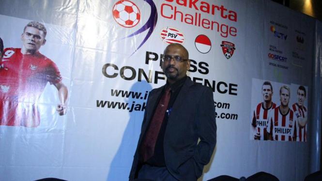 Jumpa Pers Jakarta Challenge (PSV Eindhoven)