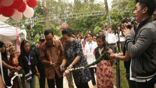 Pembukaan The 1st Indonesia Sand Sculpture Festival