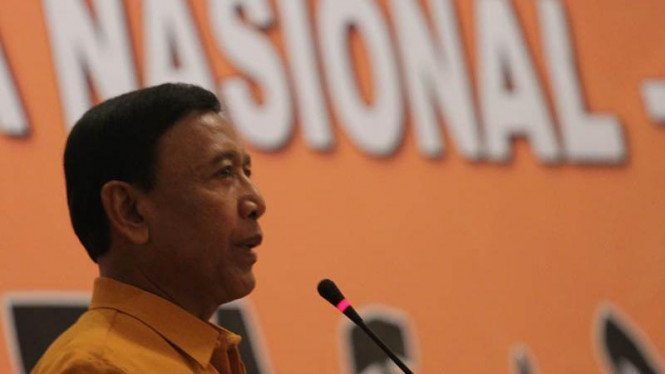 Ketua Umum Partai Hanura Wiranto