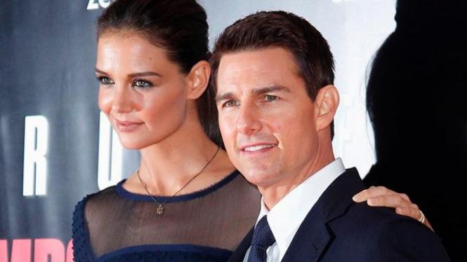 Katie Holmes dan Tom Cruise