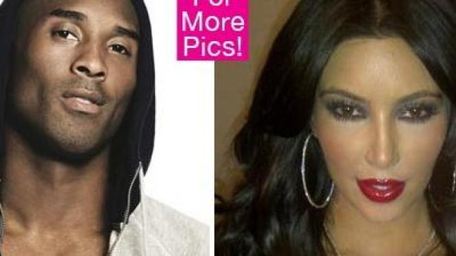Kobe Bryant dan Kim Kardashian