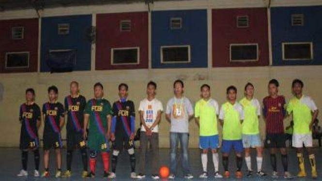 Partai final FCBI cup 2011