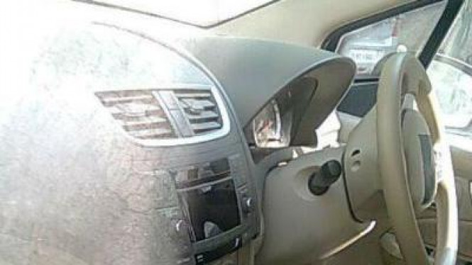 Dashboard Suzuki Ertiga