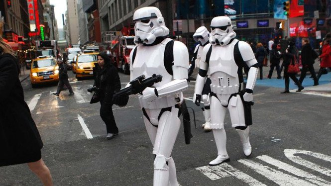 Karakter Star Wars di pencatatan saham Electronic Arts Inc