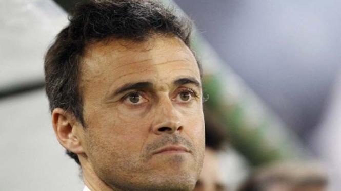 Pelatih AS Roma Luis Enrique