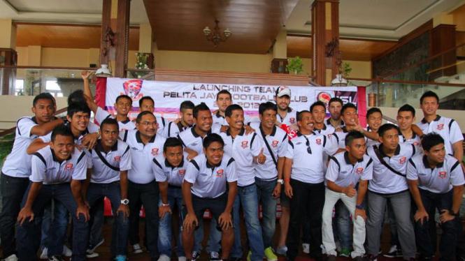 Launching Tim Pelita Jaya FC 2011/2012