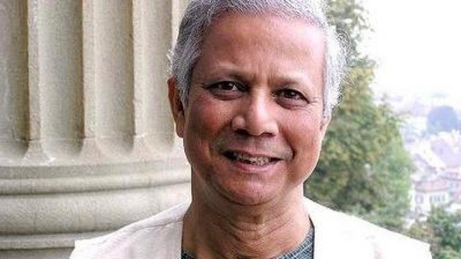 Muhammad Yunus peraih Nobel Perdamaian