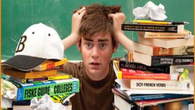 Stres saat belajar