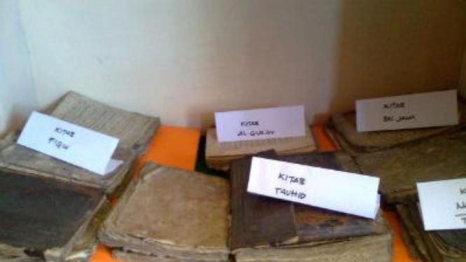 Kitab-kitab kuno di Museum Pamekasan