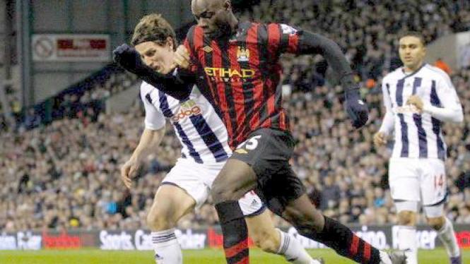 Mario Balotelli vs West Brom