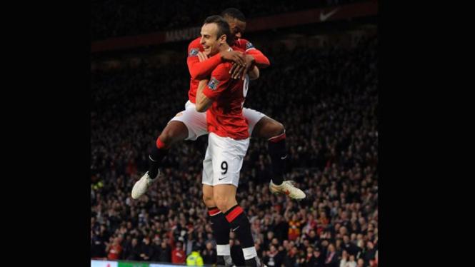 Manchester United VS Wigan Athletic, Dimitar Berbatov