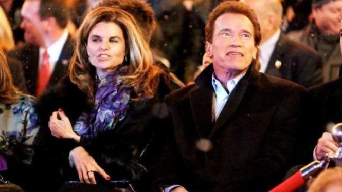 Arnold Schwarzenegger dan Maria Shriver