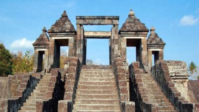 Situs Ratu Boko di Yogyakarta
