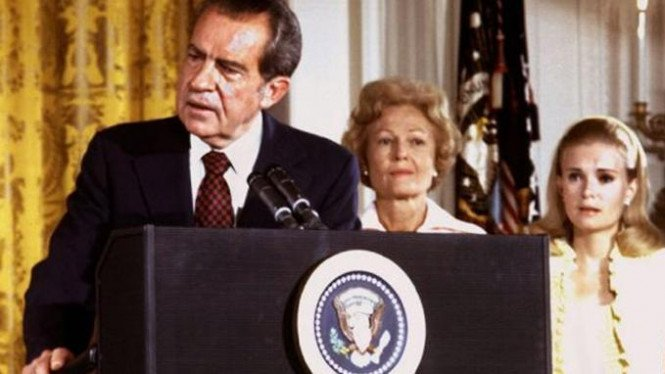 Presiden AS ke-37, Richard Nixon.