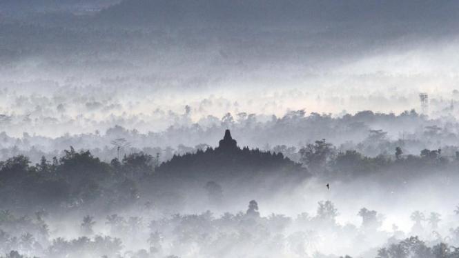 Wisata Borobudur Pagi