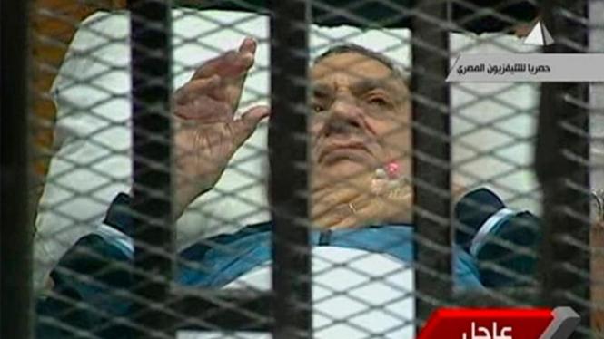 Mantan Presiden Mesir, Hosni Mubarak.
