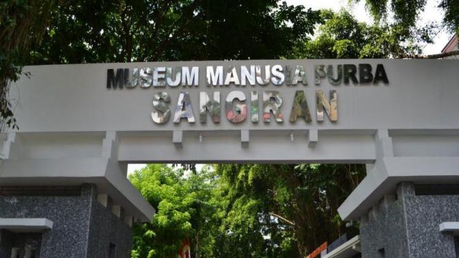Museum Manusia Purba Sangiran di Solo