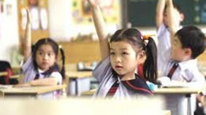 Anak bersekolah