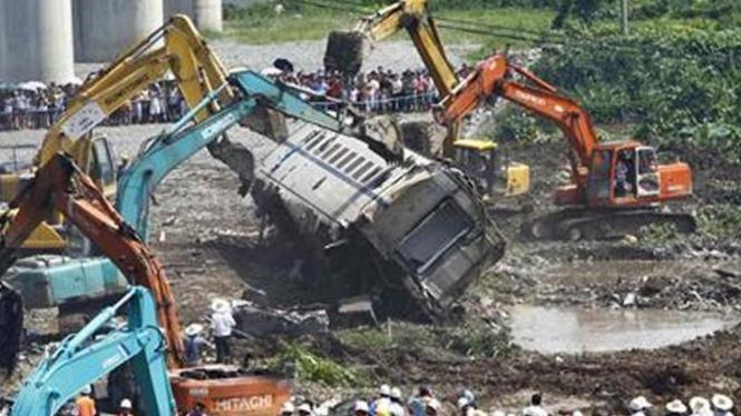 Kecelakaan kereta di China