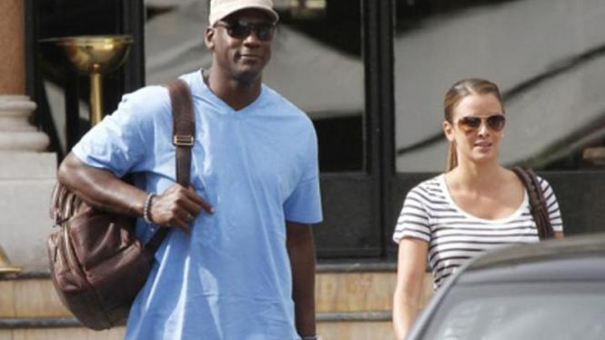 Michael Jordan dan Yvette Prieto
