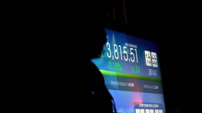 Penutupan IHSG di Bursa Efek Indonesia