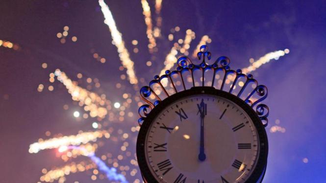 Perayaan tahun baru 2012 di Rumania