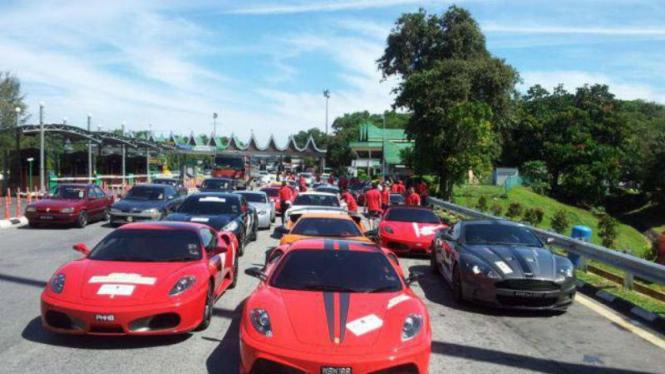 Koleksi supercar di Malaysia