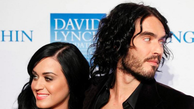 Katy Perry dan Russell Brand - Reuters