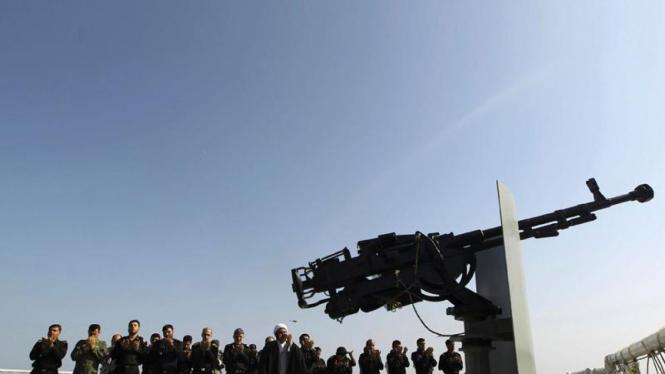 Iran uji coba rudal anti radar