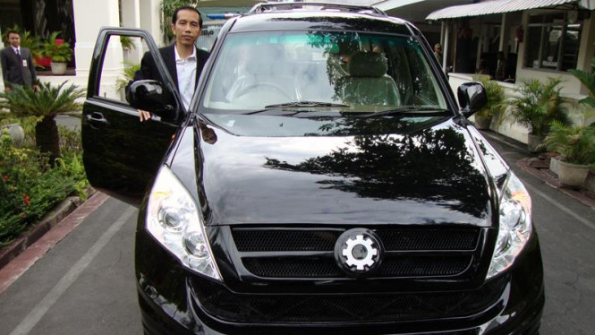 Mobil dinas Jokowi rakitan anak SMK