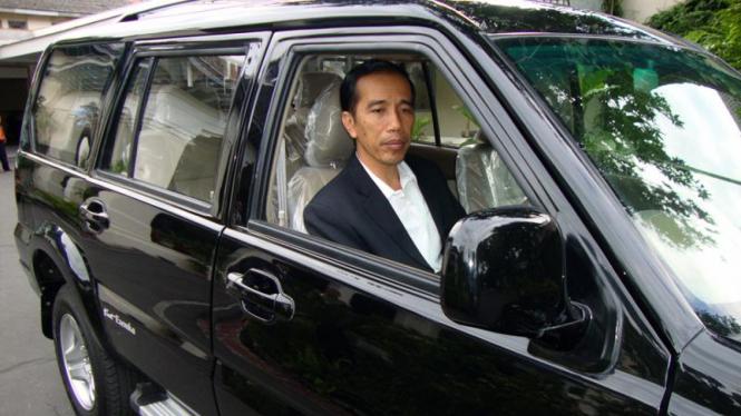 Mobil dinas Jokowi rakitan anak SMK. Ilustrasi.