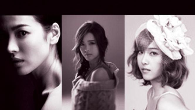 Tiga Artis Cantik Korea