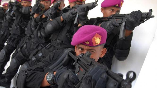 Tim Anti Teror Marinir TNI Angkatan Laut