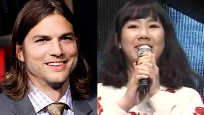 Ashton Kutcher dan Park Ji Min