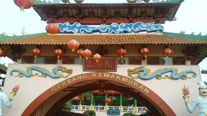 Kampung Cina di Kota Wisata Cibubur